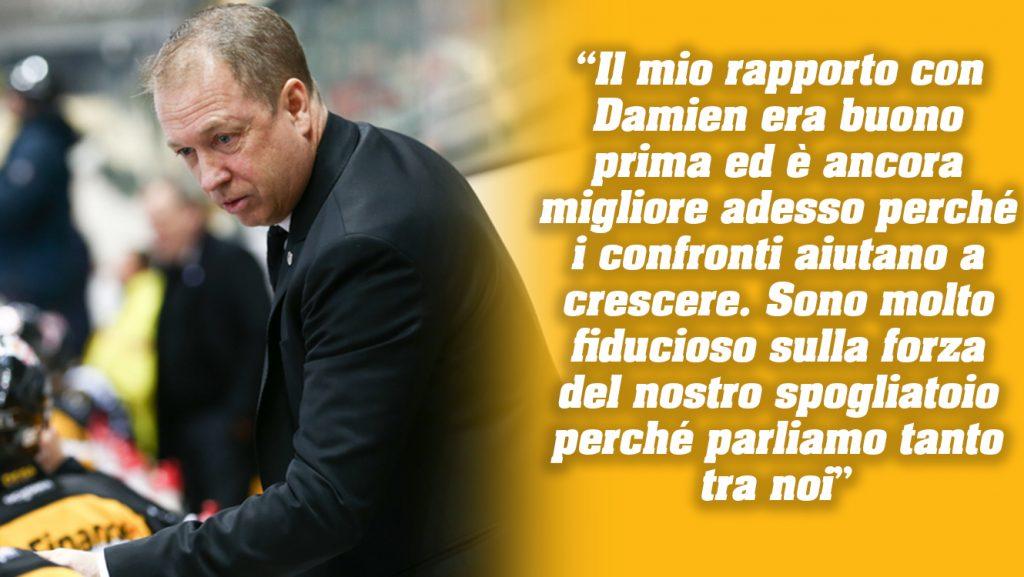 News 50_Immagine 1_ 10.01.2018_Hockey Club Lugano HCL Greg Ireland Damien Brunner