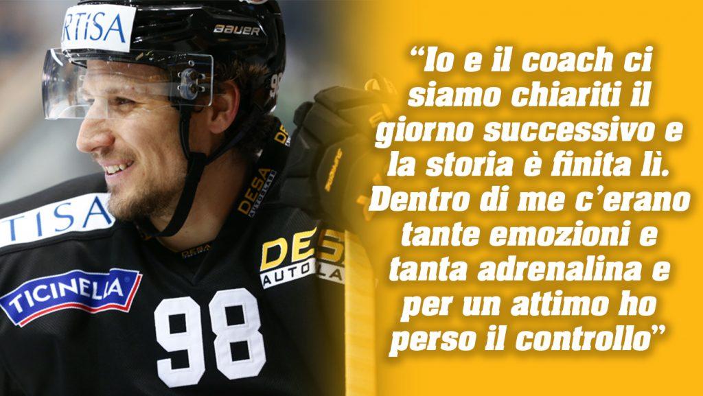 News 50_Immagine 2_ 10.01.2018_Hockey Club Lugano HCL Greg Ireland Damien Brunner